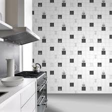 rasch tile pattern café coffee cake restaurant kitchen vinyl washable wallpaper 888119