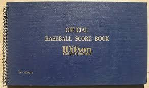 Baseball Score Book Pages Vintage Baseball Programs Magazines Books And Yearbooks