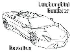 lamborghini coloring sheets pages page cars transport colouring