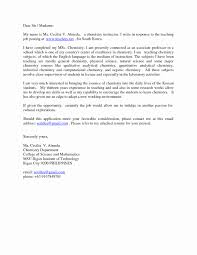 Marvelous Sample Application Letter For Math Teaching Position With