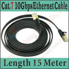 compare prices on ethernet cable 15m online shopping buy low bestquality new 45ft 15m cat 7 cat 7 flat utp 10gbps ethernet network cable rj45