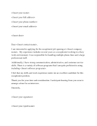 work experience cover letter examples cover letter example for  work experience