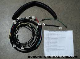 BMW Wiring Harness Connectors new wiring harness for massey harris pony tractors, free shipping!!! burch store tractors