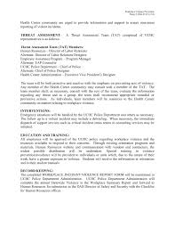 Policy Number 2004 07 Policy Workplace Violence Pages 1