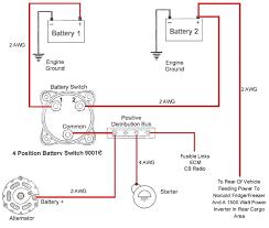 wiring diagram dual battery system carlplant marine dual battery switch wiring diagram at Dual Battery Switch Wiring Diagram