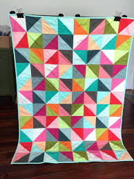 Modern Baby Quilts – co-nnect.me & ... Modern Baby Quilts For Sale Modern Baby Quilts Book Geometric Triangle  Girl Baby Toddler Modern Patchwork ... Adamdwight.com