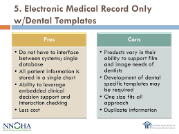 Electronic Medical Chart Electronic Medical And Dental Record Integration Options