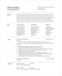 Sample Resume Objective Statements For Customer Service Examples Of Resume Objectives For Customer Service