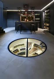 Spiral Wine Cellar Cost Curves Just About Cabinetry Wine Lovers Will  Appreciate This Luxurious Storage Solution