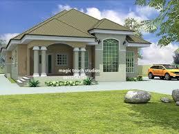 bedroom bungalow house plan nigeria