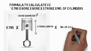 How To Calculate Cc Of A Engine
