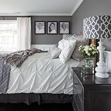 Gorgeous Gray-and-White Bedrooms | bedrooms | Master bedroom ...