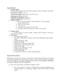Office Skills Resume Megakravmaga Com