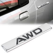 Compre <b>MAYITR 3D</b> Metal AWD Emblem Car Side Body Trunk ...