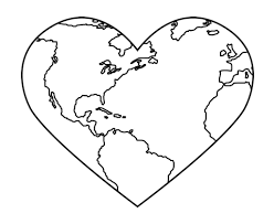Small Picture Planet Earth Day Coloring Page coloring page
