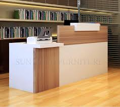 Simple Modern Front Desk Counter Office Reception Counter Design