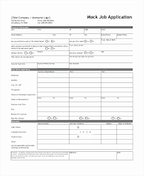 Employment History Form Template Stanley Tretick
