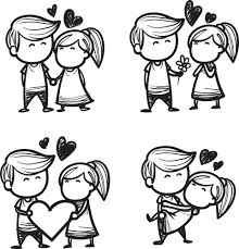 Cute Couple Png Cute Sketch Couple Png Photo 29 Png Images For Free
