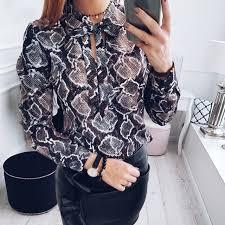 Hot Deal #b18b9f - 2018 Fashion <b>Women Sexy Chiffon</b> Blouses ...