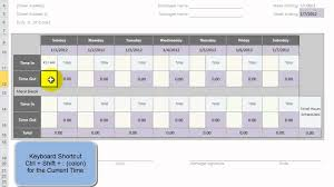 Timecard In Excel Use An Excel Template To Create 52 Weeks Of Employee Time Cards