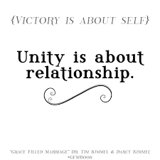 Quotes About Unity Gorgeous Marriage Quotes Unity Unique Grace Filled Marriage Quote Of The Day
