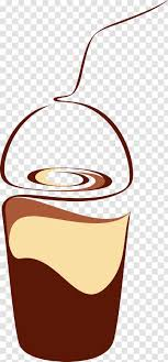 Here you can find some coffee cup silhouette images which you download and share with the coffee lovers via social media platform. Coffee Cup Tea Iced Cafe Hand Drawn Vector Transparent Png