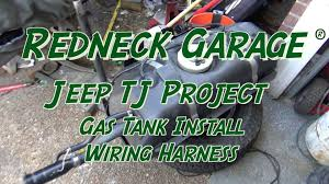 how to remove wiring harness on jeep wrangler how jeep wrangler tj project gas tank install wiring harness on how to remove wiring harness