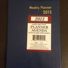 2013 Diary Daily Undated Weekly Planner Schedule Journal Korean On