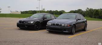 Coupe Series bmw m3 vs m5 : BMW V8 Clash: E39 M5 versus E92 M3 - autoevolution