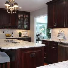 Dark Kitchen Cabinets With Light Granite Best Kitchen Dark Cabinets Light Granite White Trim Ideas For New