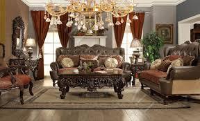 wood trim upholstered european fabric leather sofa set sofa loveseat chair