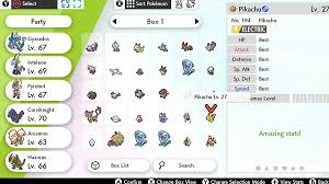 Perfect Iv Pokemon Go Chart How To Check Individual Values Ivs In Pokemon Sword