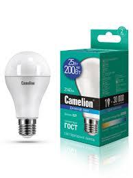 Светодиодная <b>лампочка</b> LED 25W 6500К <b>E27 Camelion</b> 8566056 ...