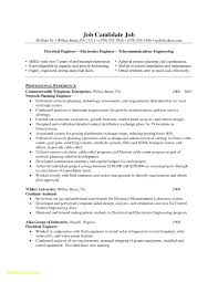 23 Resume Template For Electrical Engineers Free Sample Resume