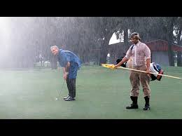 Image result for rain storms golf