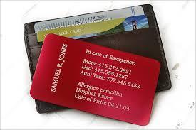 Emergency Card Template 15 Contact Card Templates Psd Ai Eps Free Premium Templates