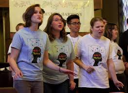 Gay straight alliance youth choir