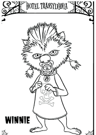 hotel transylvania 2 coloring pages 2378579