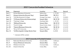 2017 Concordia University Nebraska Gohigher