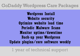 Install A Wordpress Blog With Godaddy And Maintain It For 1 Year