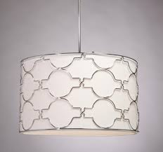 white colors drum shade pendant lights elegant amazing circle stained silver steels materials decors