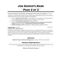 Fair Resume Cover Letter Customer Service Sample Resume Center