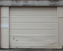 wood garage door texture. Cream Colored Aluminum Garage Roll Up Door Wood Texture