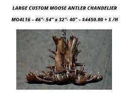 moose antler chandeliers 8