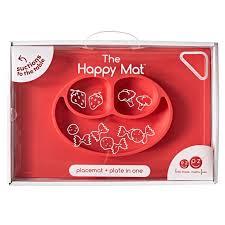 Купить набор детской <b>посуды силиконовую</b> тарелку <b>Ezpz</b> Happy ...