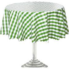 round outdoor tablecloth tablecloths with elastic white mix green color astonishing umbrella hole