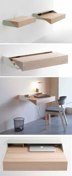 Le Bureau Pliable Est Fait Pour Faciliter Votre Vie Bureau Mural Design Bureau Relevable Blanc Mural Pour Office Space