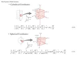 heat equation radial systems