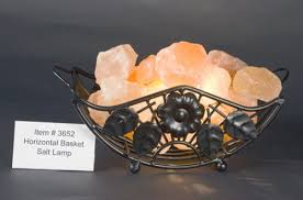 Horizontal Feng Shui Himalayan Salt Lamp