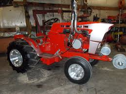 best garden tractor. How About This Awsome Sears Suburban Garden Tractor Custom Puller!!! Pic1 Best